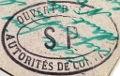 """Lettre en FM d'Albert (Somme) de juin 45 pour Avignon avec censure """"LAB""""- non répertoriée !! SP"""